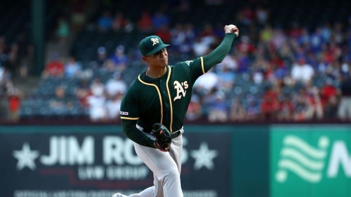 Jesús Luzardo tuvo un debut brillante en la MLB en la temporada de 2019