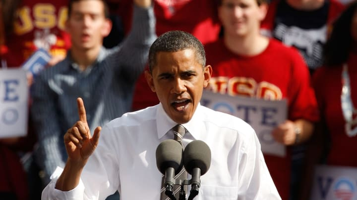 Barack Obama at USC.