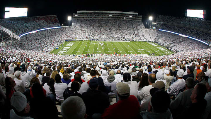 STATE COLLEGE, PA - OCTOBER 25:  A general view of Beaver Stadium during the game between the Ohio State Buckeyes and the Penn State Nittany Lions on October 25, 2014 at Beaver Stadium in State College, Pennsylvania.  (Photo by Justin K. Aller/Getty Images)