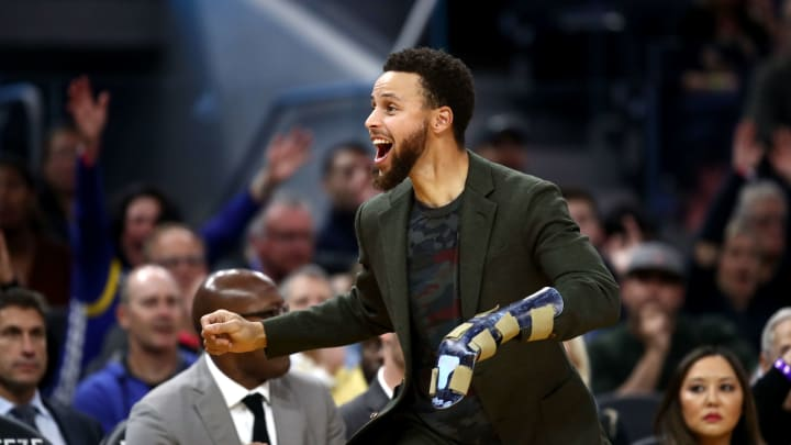 Stephen Curry had a second surgery on his left hand but is still targeting a February return.