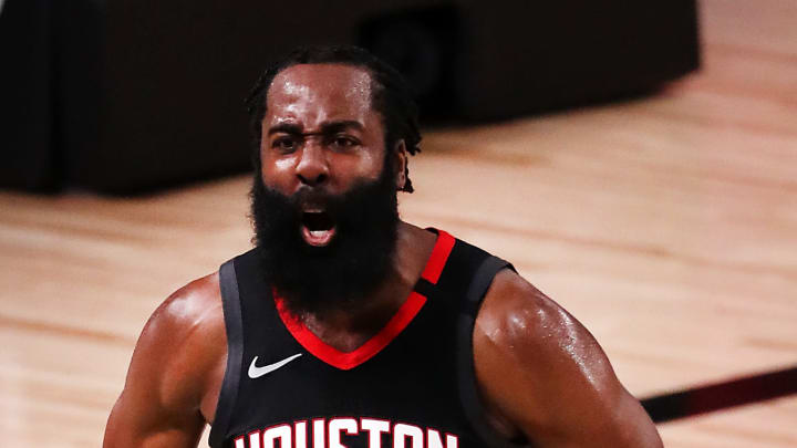 James Harden getting it done on the defensive end.