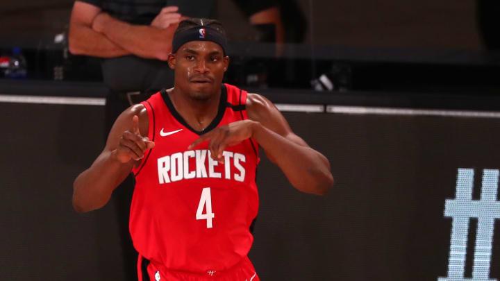 Danuel House, Oklahoma City Thunder v Houston Rockets - Game Two