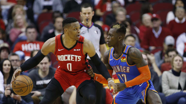 Russell Westbrook and Dennis Schrodinger