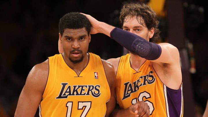 Pau Gasol was one of many Lakers players to praise Bynum's toughness on the floor.