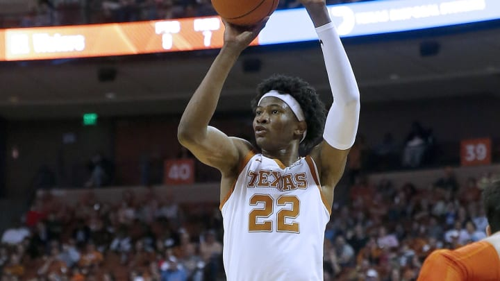 Kansas vs Texas odds, prediction, spread and line for Tuesday's NCAA men's college basketball game.
