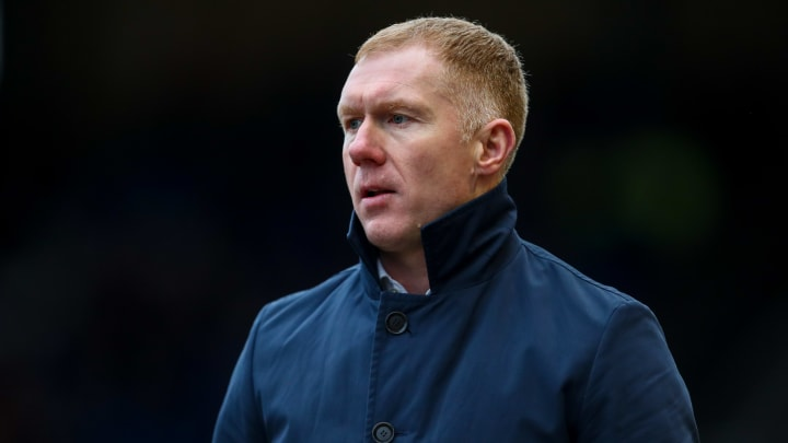 Man Utd legend Paul Scholes is Salford City's new caretaker boss