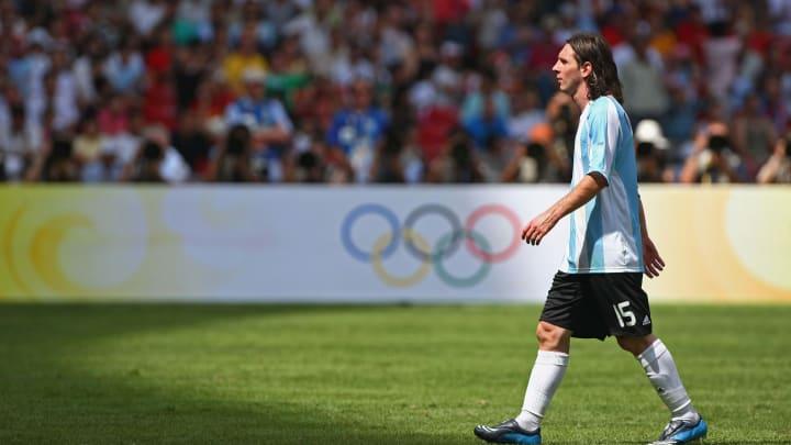 Lionel Messi Argentina Olimpíada Tóquio 2020