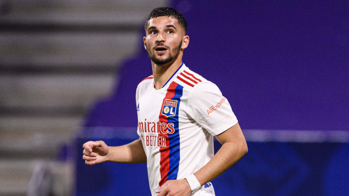 Arsenal are tipped to go back in for Lyon's Houssem Aouar