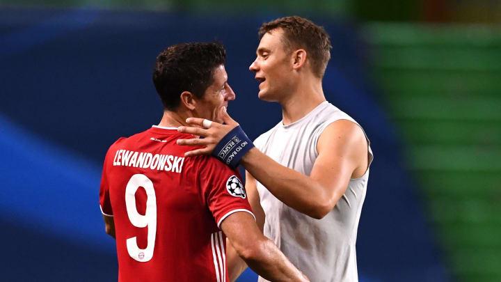 Auch Manuel Neuer und Robert Lewandowski stehen selbstredend zur Auswahl