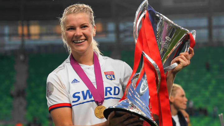 Ada Hegerberg is among the Champions League's all-time top scorers