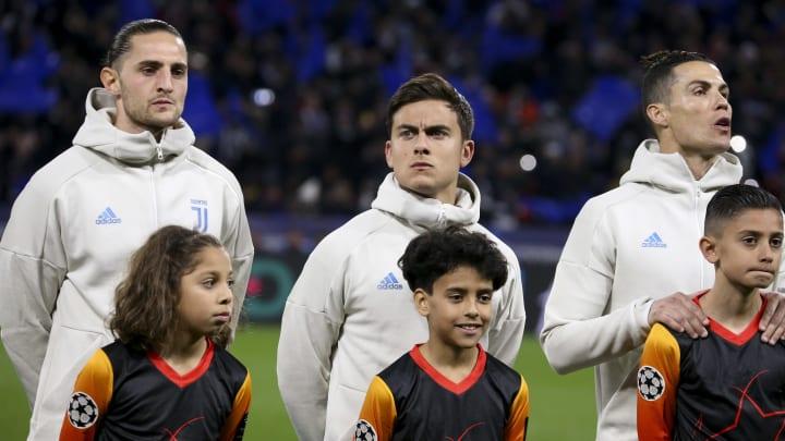 Adrien Rabiot, Paulo Dybala, Cristiano Ronaldo