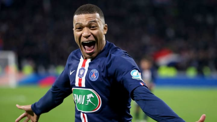 Mbappé has averaged a goal contribution every 68 minutes in a PSG shirt