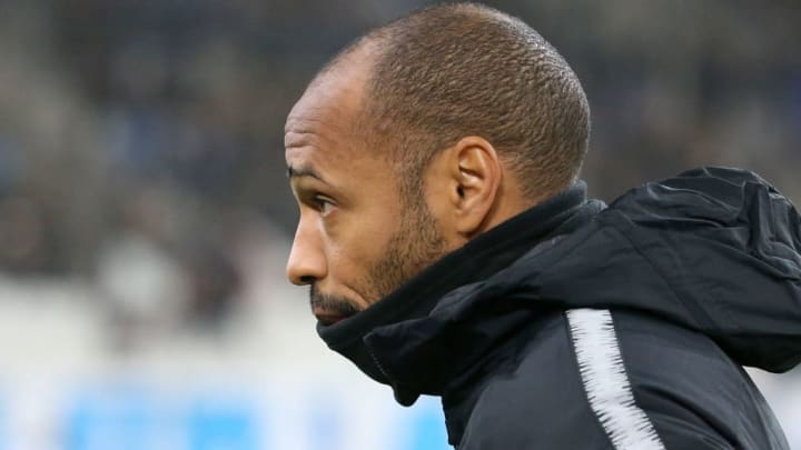 Thierry Henry managed Monaco between October 2018 and January 2019