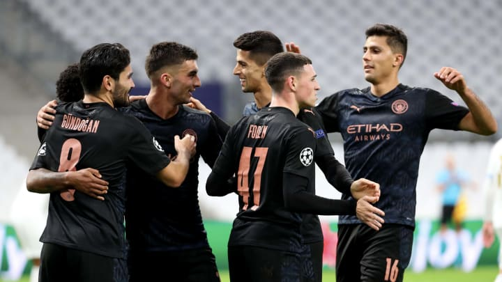 Olympique de Marseille v Manchester City: Group C - UEFA Champions League