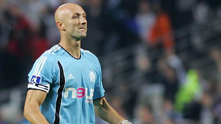 Olympique de Marseille's goalkeeper Fabi