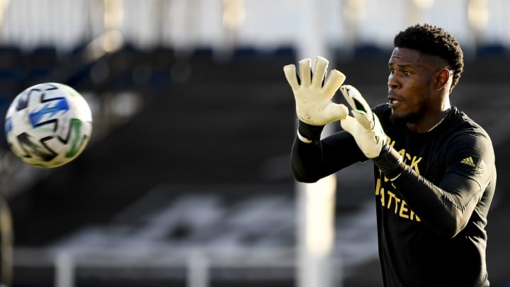 Andre Blake, portero de Philadelphia Union - MLS Is Back Tournament