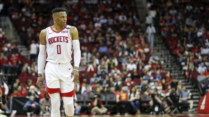 Russell Westbrook, Orlando Magic v Houston Rockets