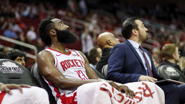 Image result for james harden in magic loss
