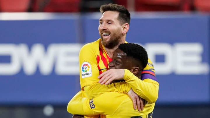 Ilaix Moriba, Lionel Messi