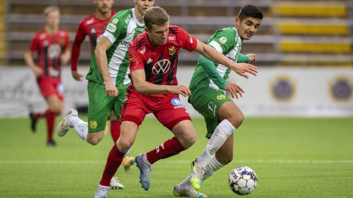 Aimar Sher (r.) soll das Interesse aus der Bundesliga geweckt haben