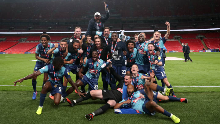 Wycombe earned promotion to the Championship by beating Oxford in the playoff final
