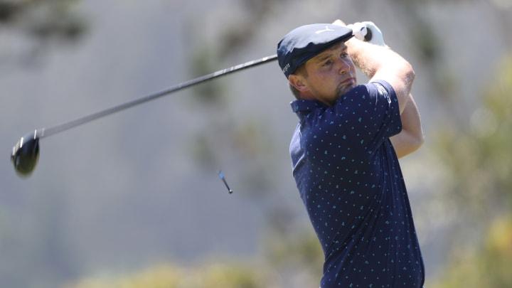 Bryson DeChambeau at the PGA Championship - Round One