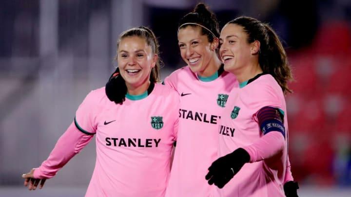 Barcelona Champions League Feminina PSG
