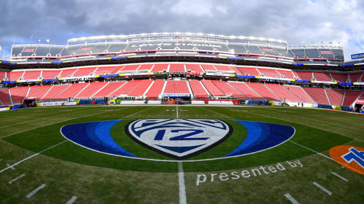 The Pac-12 championship field.