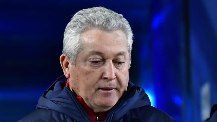 El entrenador Víctor Manuel Vucetich.