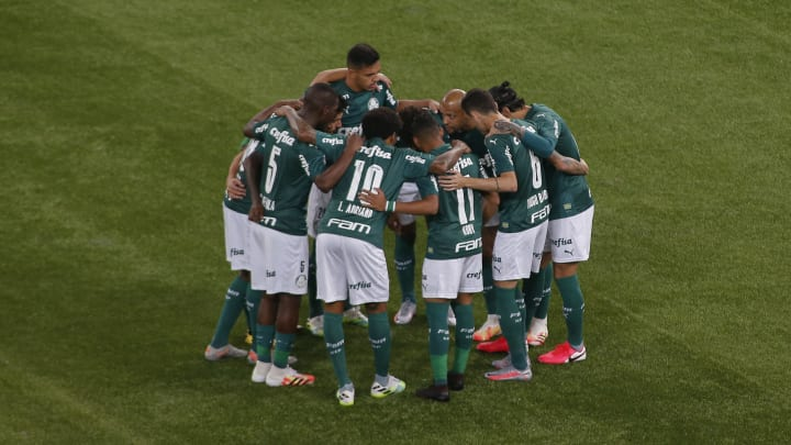 Palmeiras Plays Ponte Preta Behind Closed Doors for the State Championship Semi-Final Amidst the Coronavirus (COVID - 19) Pandemic
