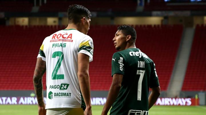 Defensa y Justicia e Palmeiras se enfrentam nesta terça-feira (04), pela Libertadores.