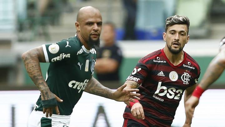 Arrascaeta, Felipe Melo, Gabriel Barbosa