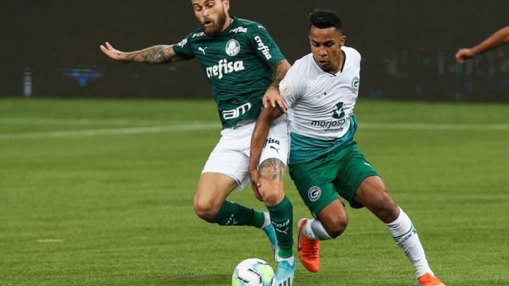 Palmeiras v Goias Play Behind Closed Doors the First Round of the 2020 Brasileirao Series A Amidst