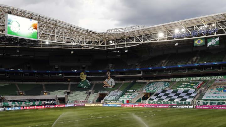 Palmeiras anuncia quinta contratação para a temporada de 2021: trata-se da goleira Taty Amaro.