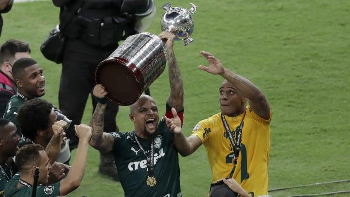 Volante do Palmeiras falou após vitória na Bombonera, em 2018