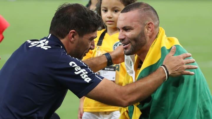 Weverton Palmeiras Abel Ferreira