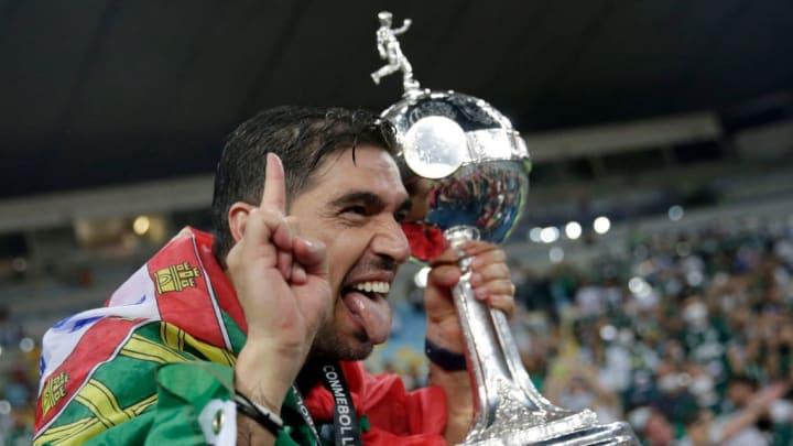Abel Ferreira campeao triplice coroa
