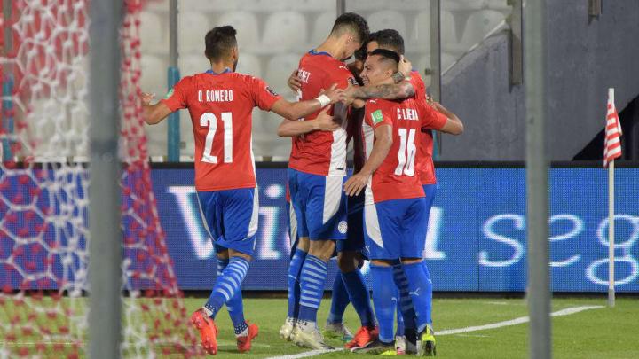 Ángel Romero Paraguai Eliminatórias Brasil