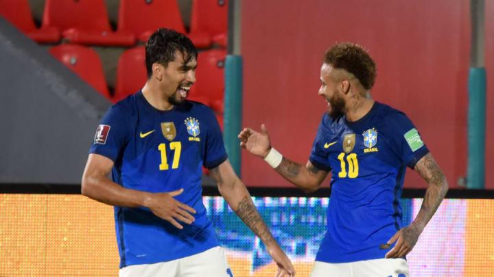 Lucas Paquetá, Neymar