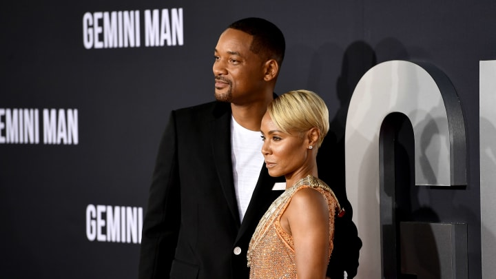 """Will Smith, Jada Pinkett Smith at Paramount Pictures' Premiere Of """"Gemini Man"""" - Arrivals"""