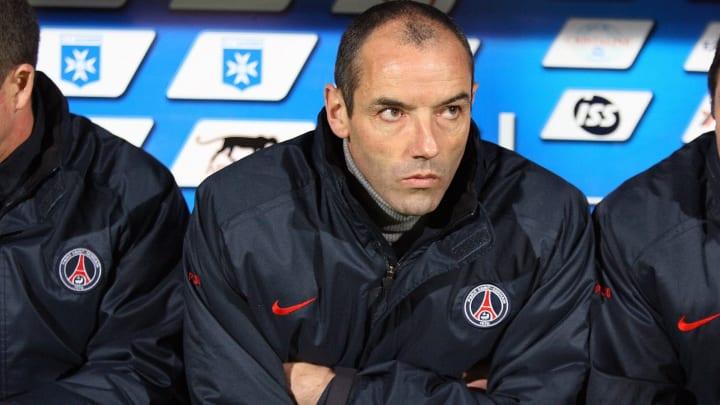 Paris French coach Paul Le Guen looks at