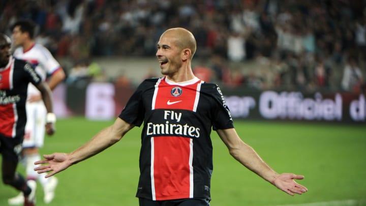 Paris' French defender Christophe Jallet