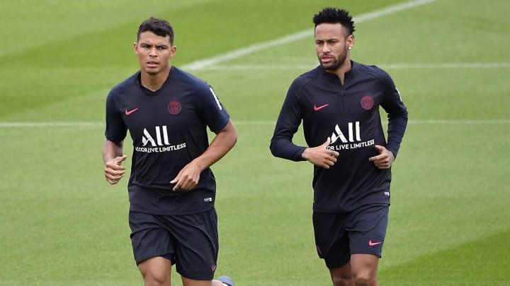 Neymar Jr, Thiago Silva