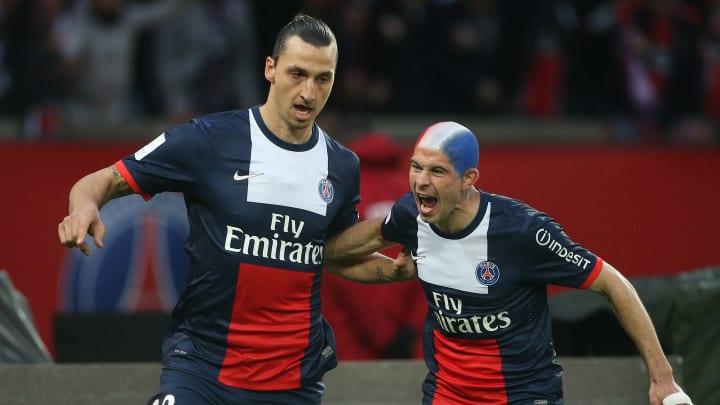 Zlatan Ibrahimovic, Christophe Jallet