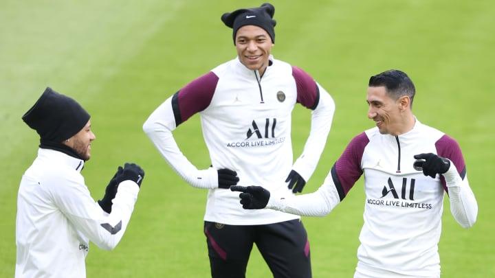 Neymar, Mbappe et Di Maria seront bien présents contre le Bayern ce mardi soir