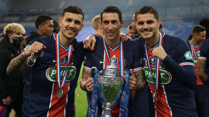 Leandro Paredes, Angel Di Maria and Mauro Icardi are all available for transfer