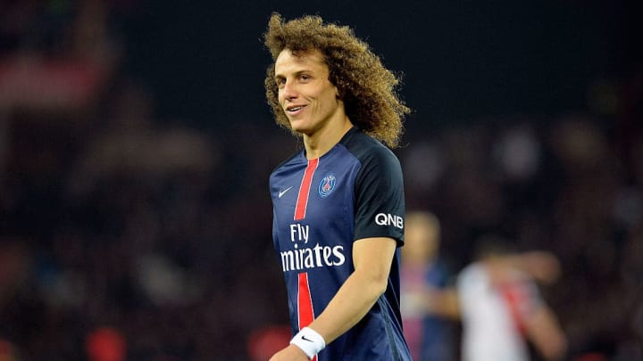 David Luiz sous les couleurs du Paris Saint-Germain