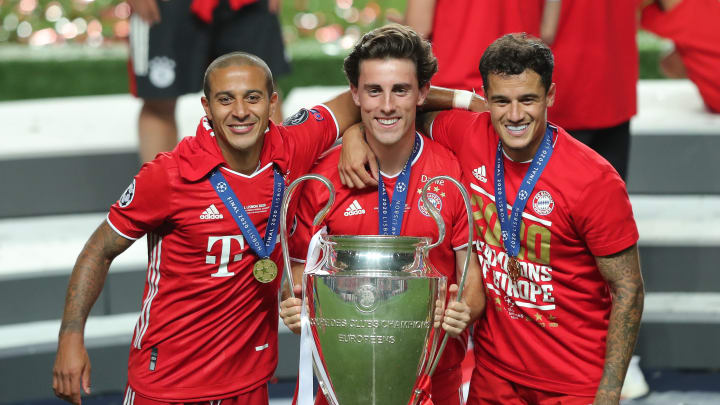 Thiago, Alvaro Odriozola, Philippe Coutinho