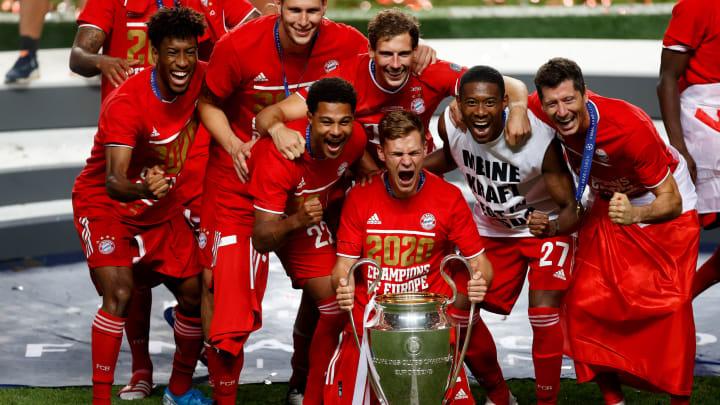 Bayern Munchen menjuarai Liga Champions musim 2019/20