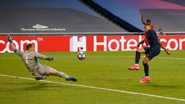 Kylian Mbappe, Manuel Neuer